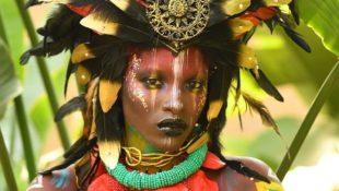 Bodypainting Künstler erobern Afrika