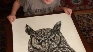 Wunderkind: 16-Jähriger zeichnet Meisterwerke aus dem Gedächtnis