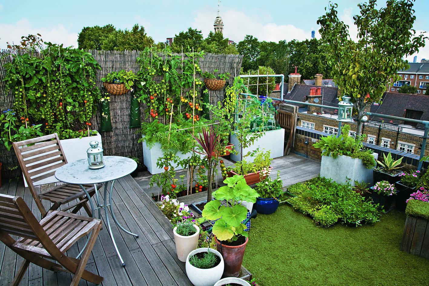 So wirkt Ihr kleiner Garten gleich viel grösser – Spaß muss sein