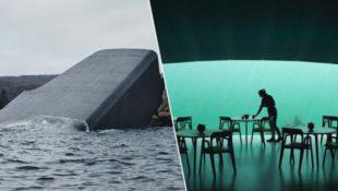 Erstes Unterwasserrestaurant Europas eröffnet in Norwegen