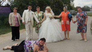 44 skurrile Hochzeitsfotos aus Russland, die so schlecht sind, dass sie wieder gut sind