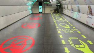 Aprilscherze im Netz: Smartphone-Spuren in Wiener U-Bahn